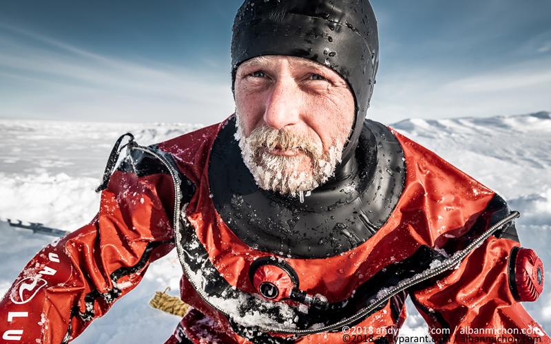 Alban Michon explorateur des grands poles Free Spirit