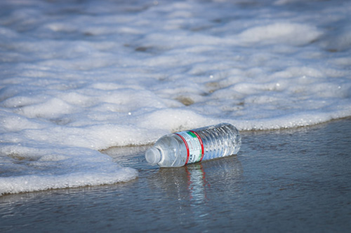 Cleanwalk cleanup nettoyage des plages déchets bouteilles en plastique